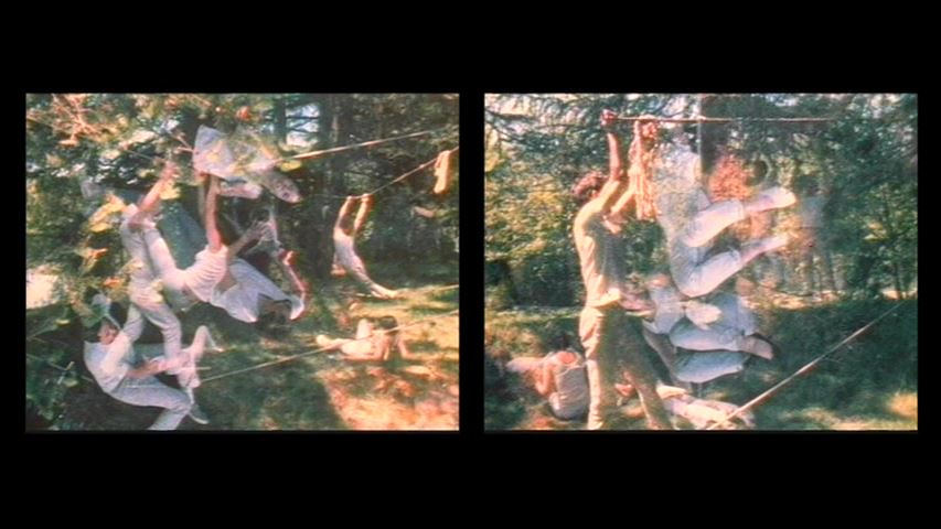 Carolee Schneemann, Water Light - Water Needle (Lake MahWah, NJ), 1966, 11.13 min, colour, sound, 16mm film on video [III] [courtesy of Hales Gallery, copyright Carolee Schneemann]