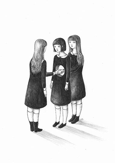Virginia Mori, disegno per Komikazen Festival