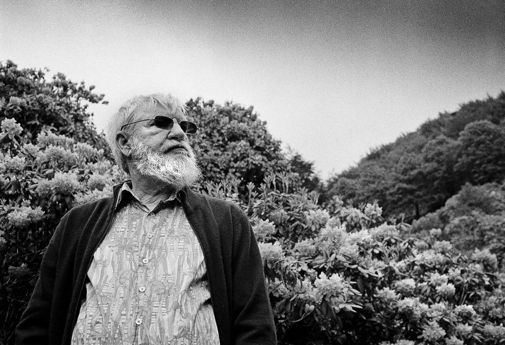 Ritratto di Dan Graham, Oasi Zegna - Foto Carlo Beccalli