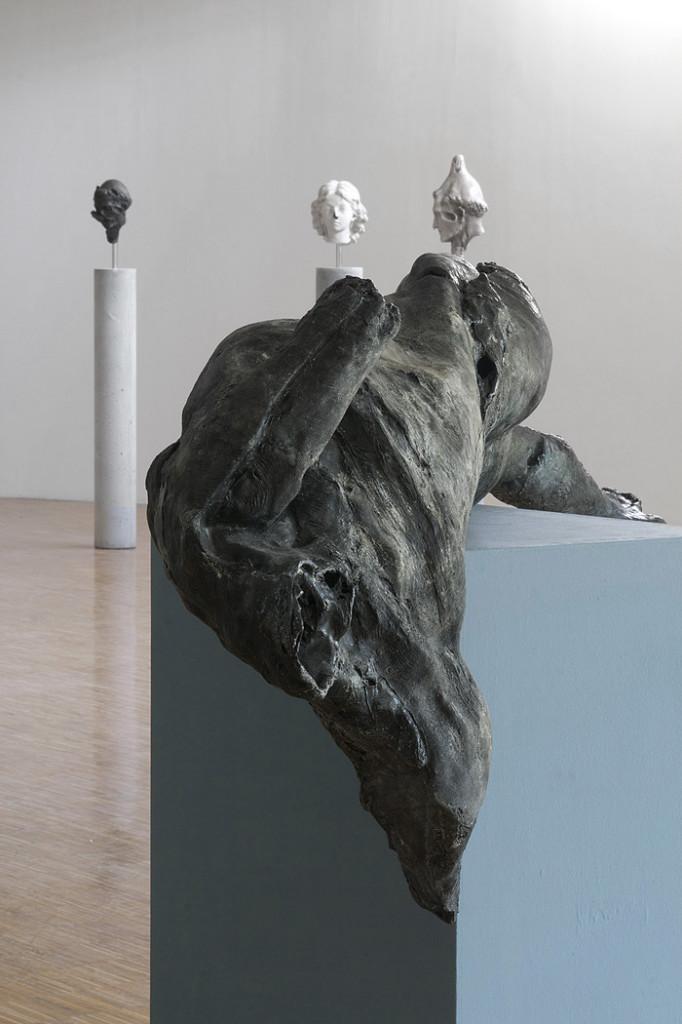 3. Nicola Samorì, Viergenoire, 2014, tecnica mista, 225x67x36 cm