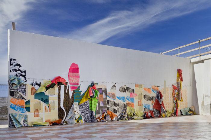 Ludovica Gioscia, Mineral Rush Flamingo Crush. Galleria Mangiabarche, 2013. Courtesy dell'artista e Galleria Riccardo Crespi