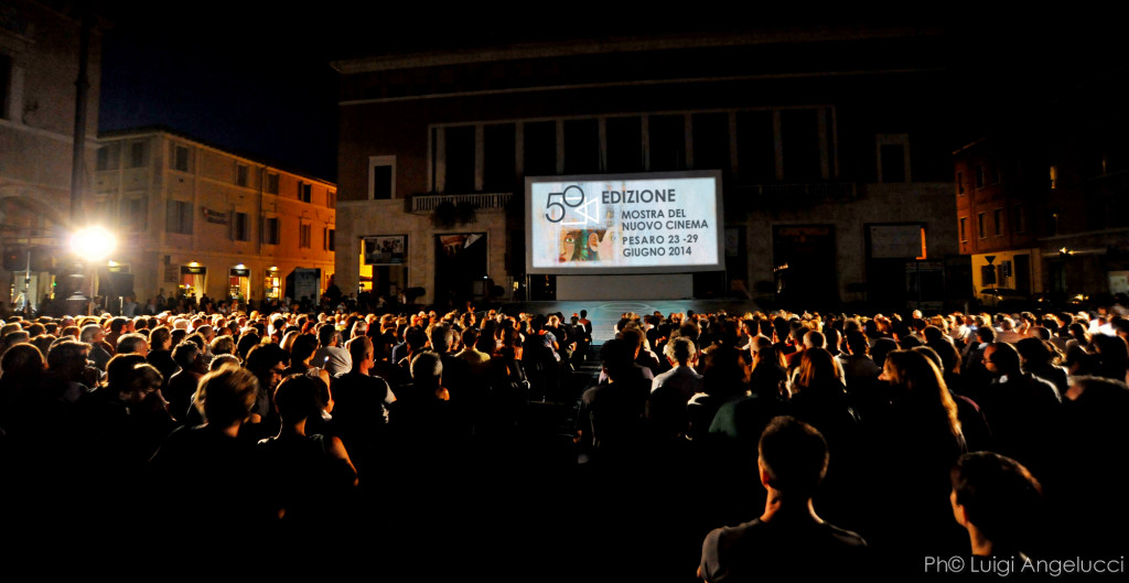 Piazza del Popolo. Pesaro Film Festival. Ph© Luigi Angelucci