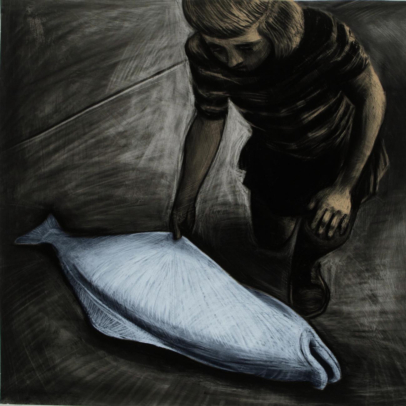 "Anke Feuchtenberger, da ""Dice la volpe al corvo"", 2013"