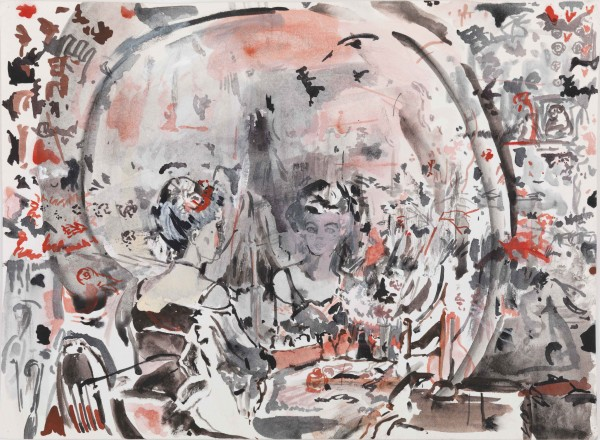 Cecily Brown, Untitled, 2006-2011 © Cecily Brown. Courtesy Gagosian Gallery. Photo Robert McKeever