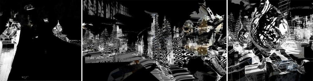 RE:****SITRUUNA JA MEDUUSA, James Andean e Merja Nieminen, installazione visuale live&direct