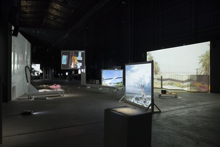 Installation views, Fondazione HangarBicocca Milano. Photo by Agostino Osio. Courtesy Fondazione HangarBicocca Milano
