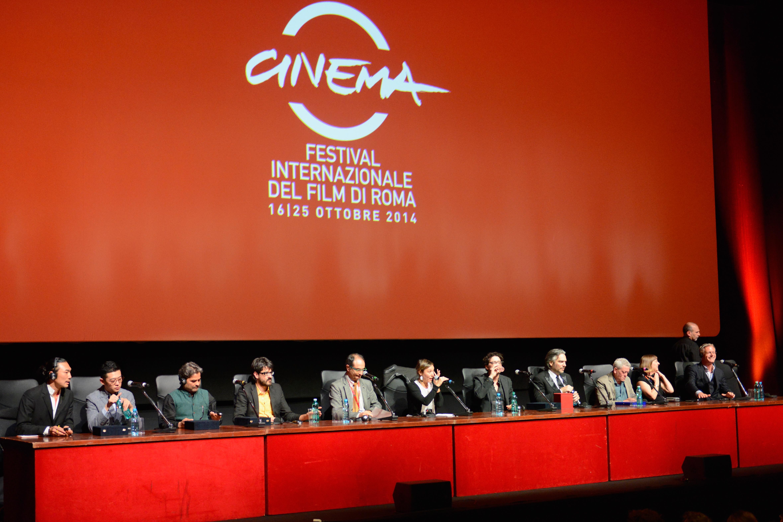 Conferenza stampa con i premiati