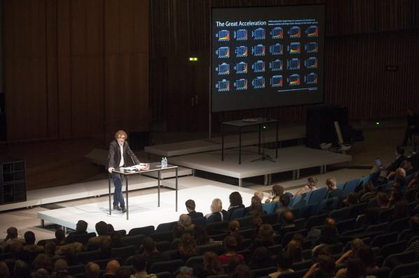 The Anthropocence Project. A Report. Opening October 16, 2014. Bernd Scherer, Director © Sebastian Bolesch / Haus der Kulturen der Welt