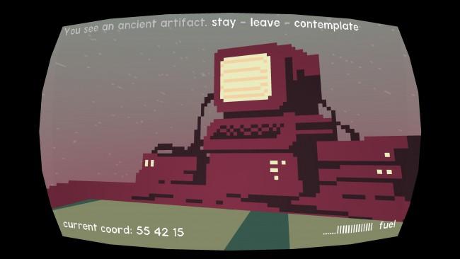 Even the Stars, videogame by Pol Clarissou & Nicholas Gavan (2014)