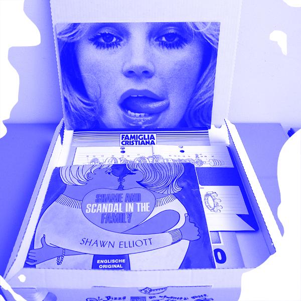 Pizza Box, edizione d'artista di Droste Effect