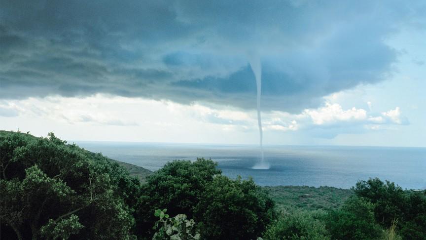 Anthropocene Observatory: Armin Linke | »Whirlwind«, Pantelleria, Italy, 2007 | © Armin Linke