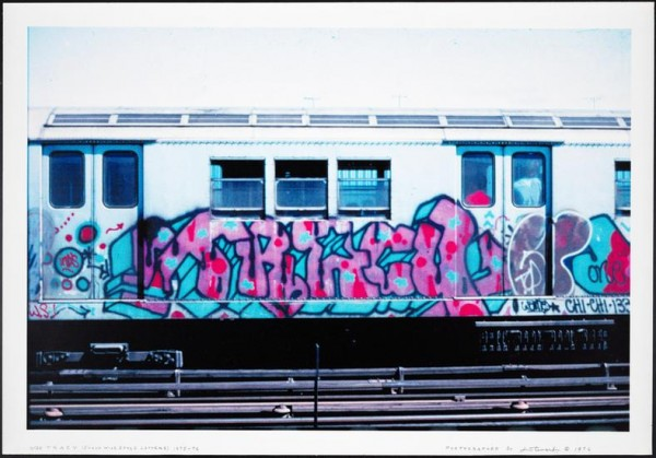 Tracy 168, wild style pioneristico, photograph by Jack Stewart, 1976