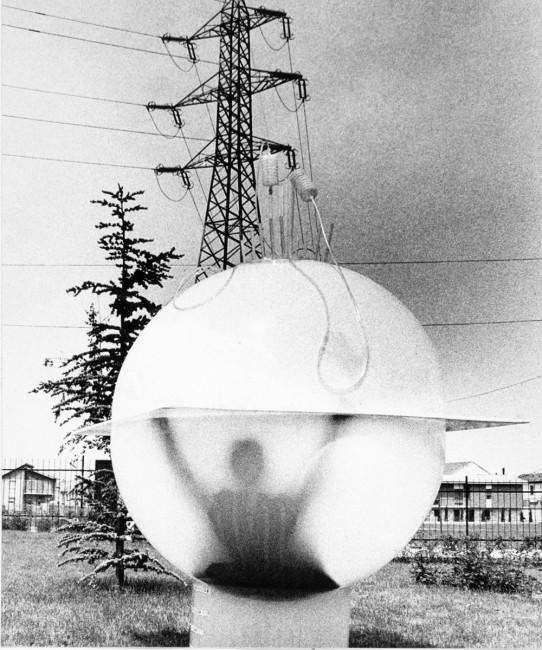 Ugo La Pietra, Immersione Uomouovosfera, 1968. Courtesy Archivio Ugo La Pietra