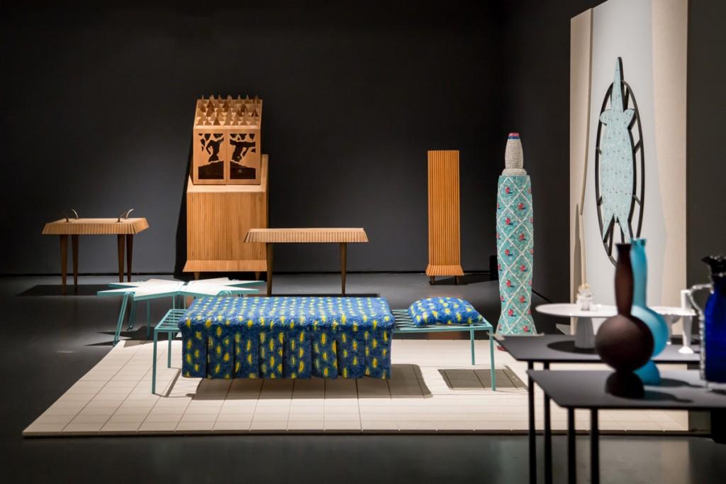 Ugo La Pietra - Progetto disequilibrante, veduta della mostra, Triennale di Milano. Foto Dario Zampiron