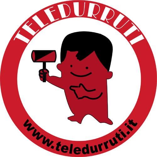 Simbolo di Teledurruti disegnato da Silvio Garbini per Fulvio Abbate