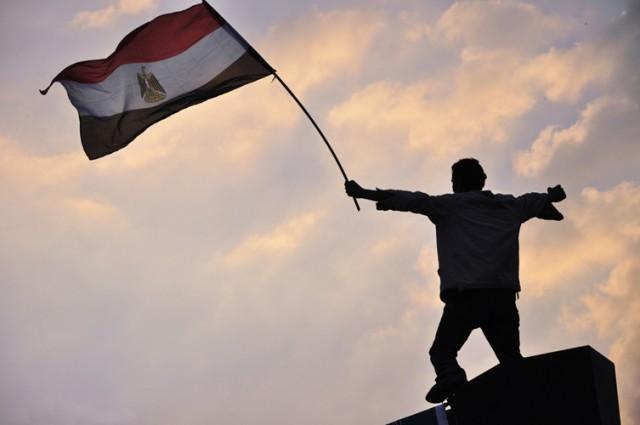Proteste a Piazza Tahrir, Cairo, Egitto, 2011, foto: Jonathan Rashad Wikimedia Commons
