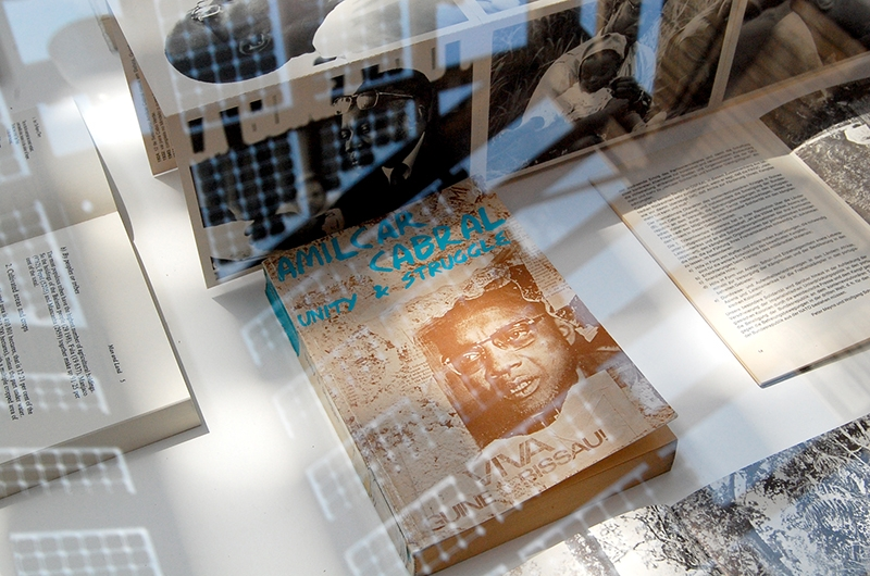 Amilcar Cabral, esposizione libri e scritti