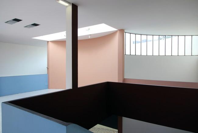 Padiglione Esprit Nouveau, Bologna, interno, dettaglio, 2014, foto e courtesy Cristian Chironi