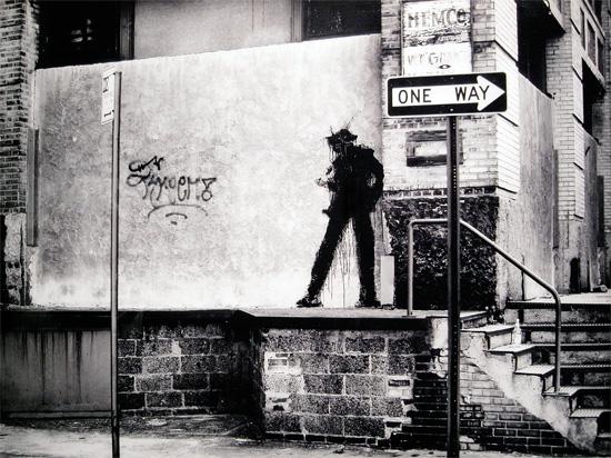 Richard Hambleton, NYC, 1982