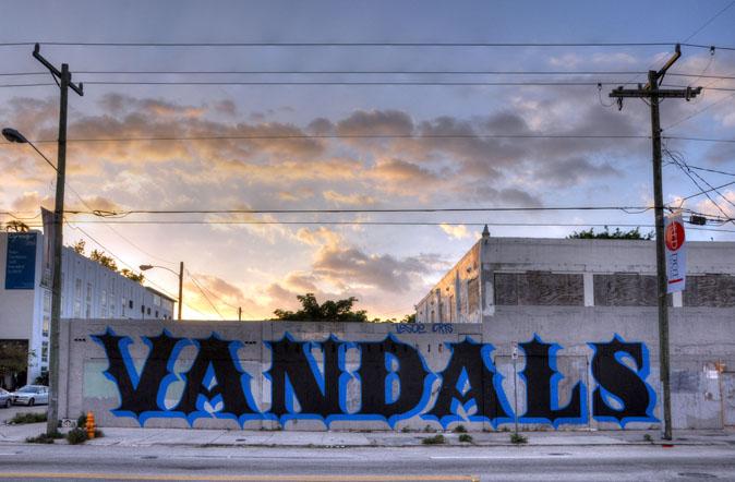 Ben Eine, Miami, 2012. Quando il lettering si fa Street art