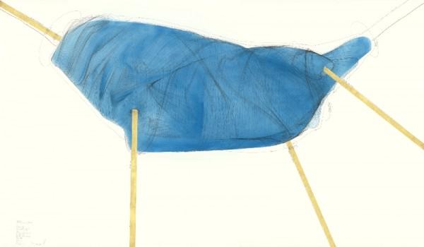 4 Anker (Beobachtungen im Jetzt III), 2015, 240x140 cm © the artist; Courtesy, Lisson Gallery, London