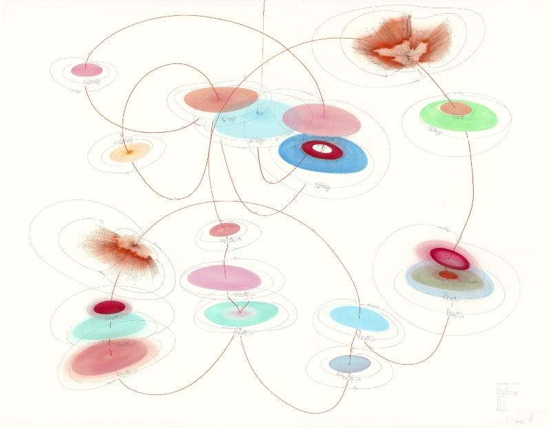JA ODER NEIN - Studie 1, 2014, 140x180 cm © the artist; Courtesy, Lisson Gallery, London