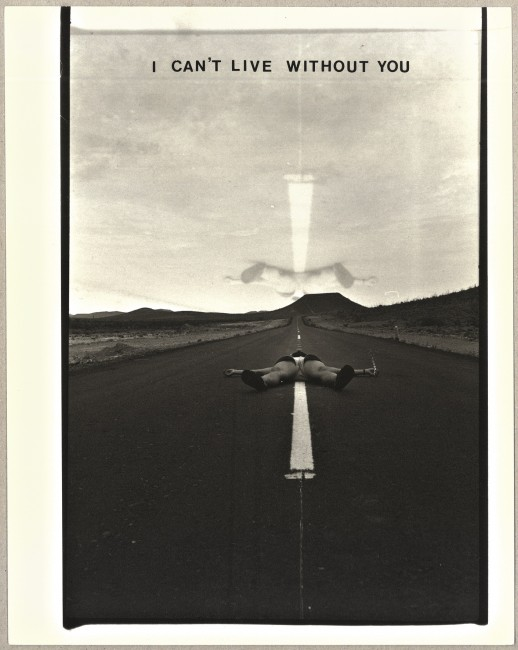 I can´t live without you, 1983. Gelatin Silver Print. 25,3 x 20,1 cm © Barbara Hammer. Courtesy of Barbara Hammer and KOW Berlin