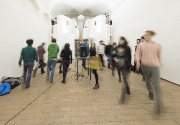 Bill Dietz, Tutorial Diversions presso Raum, Bologna, 2015. Foto di Luca Ghedini