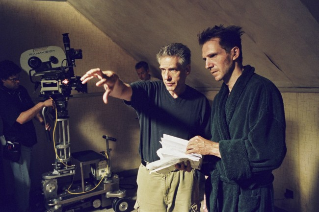 EVOLUTION, David Cronenberg e Ralph Fiennes