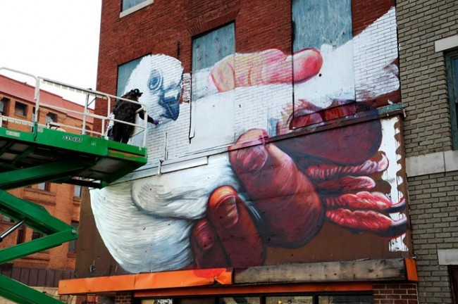 Gaia, Open Walls 2012