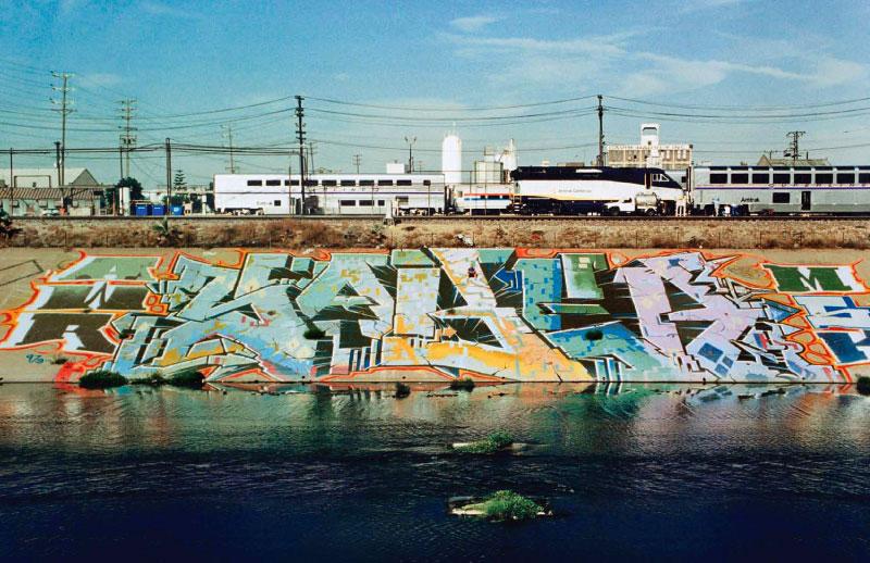 : Saber, L.A. River, 1997