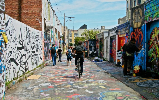 Clarion Alley, photo by Lauren Golightly