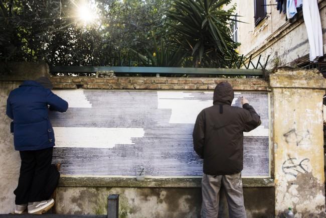 Sten Lex a Roma per Wunderkammern © Giorgio Coen Cagli