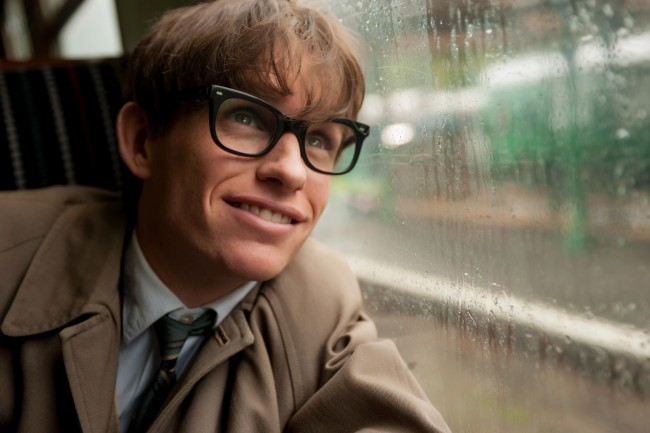 Eddie Redmayne in The theory of everything