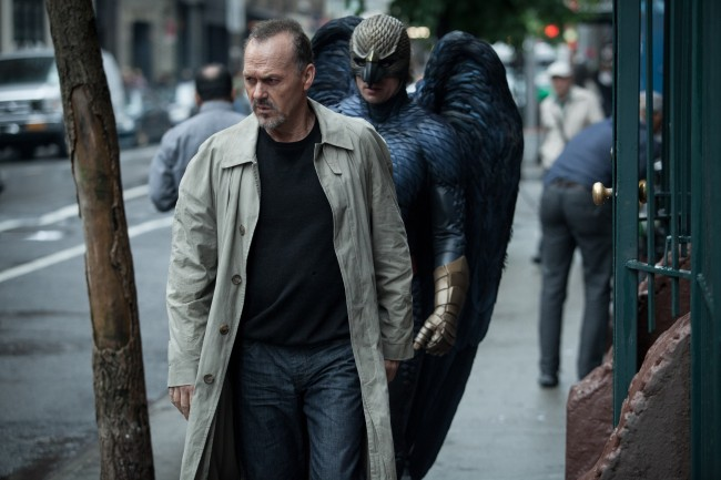 "Michael Keaton as ""Riggan"" in BIRDMAN."