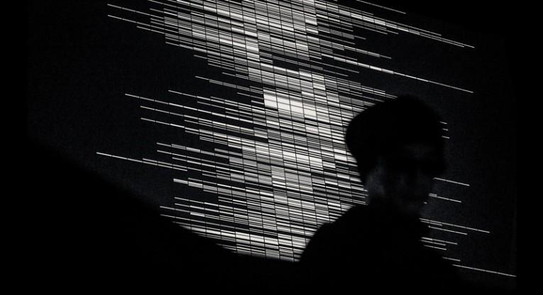 Ryoji Ikeda,  supercodex [live set], audiovisual, performance, 2013