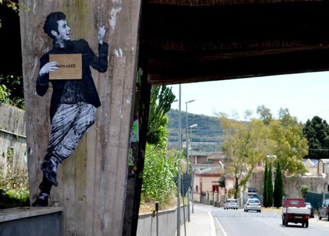 Levalet, Memorie Urbane 2014. Courtesy Levalet