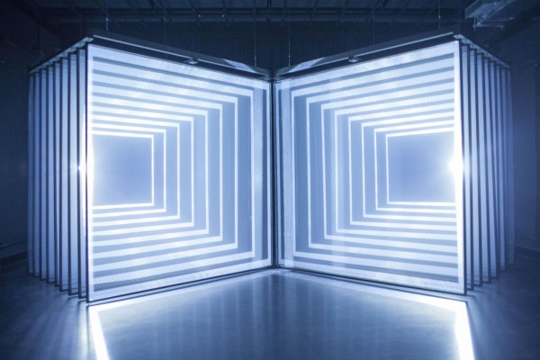 Daydream v.2, Nonotak, audiovisual installation, 2013