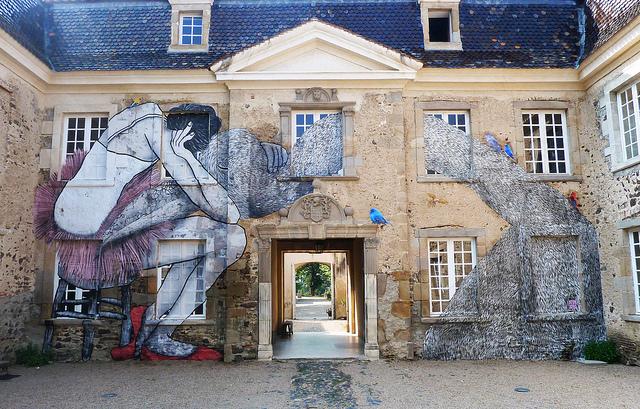 Ella e Pitr, Château de Goutelas, Francia, 2013