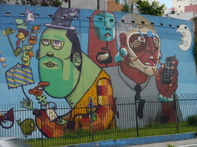 Finok e Nunca, Avenida 23 de Maio, 2008, photo by Frederic Ronflard