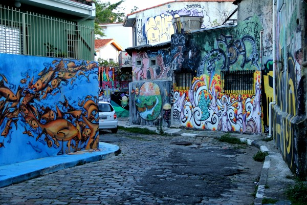 Beco do Batman, photo by Ricardo Kenski