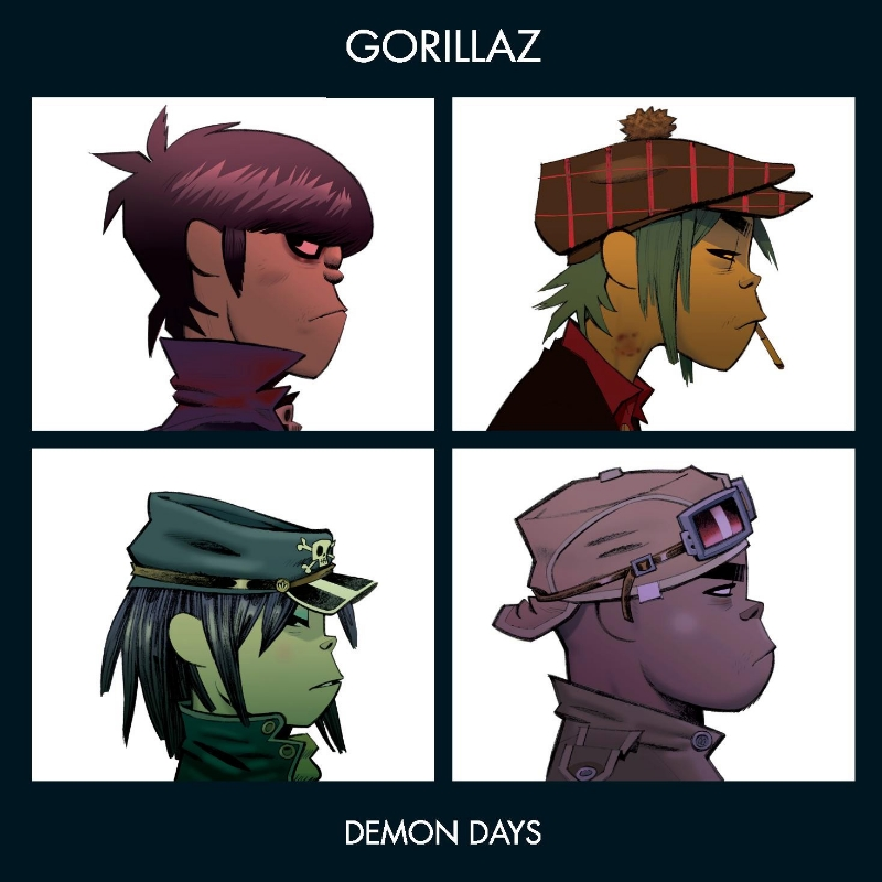 Gorillaz, Demon Days (Parlophone, 2005)