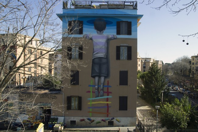 SETH_BIG CITY LIFE project by 999Contemporary_Tormarancia-Roma. Photo by 999Contemporary