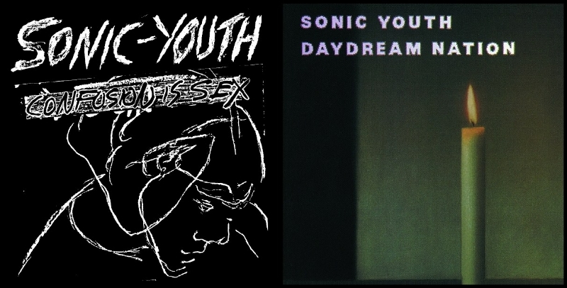 Sonic Youth, Confusion Is Sex (Neutral, 1983); Sonic Youth, Daydream Nation (Enigma, 1988)