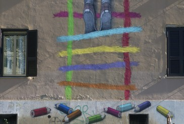 Big City Life, street art per riqualificare i quartieri degradati di Roma