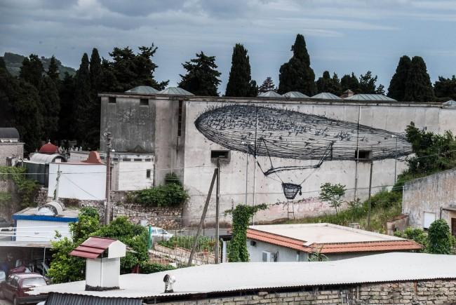 DALeast, Gaeta, Memorie Urbane 2013, foto Flavia Fiengo
