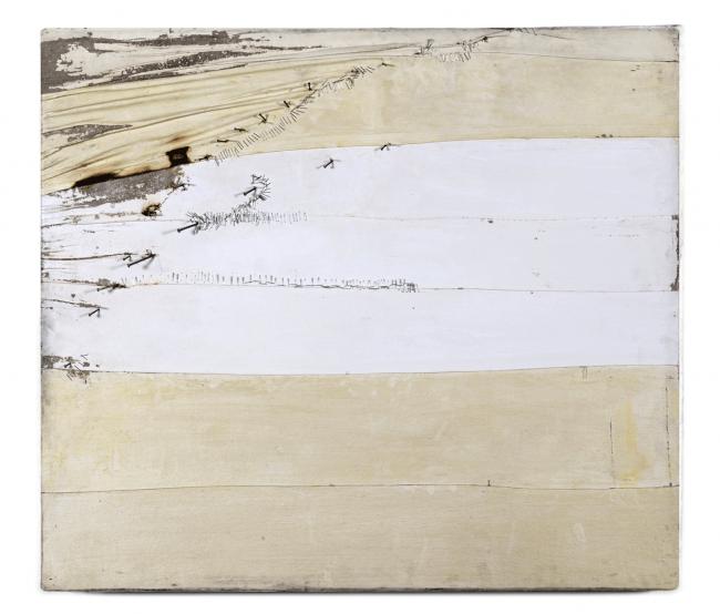 Beatrice Zagato, Certezza II, tecnica mista su tela