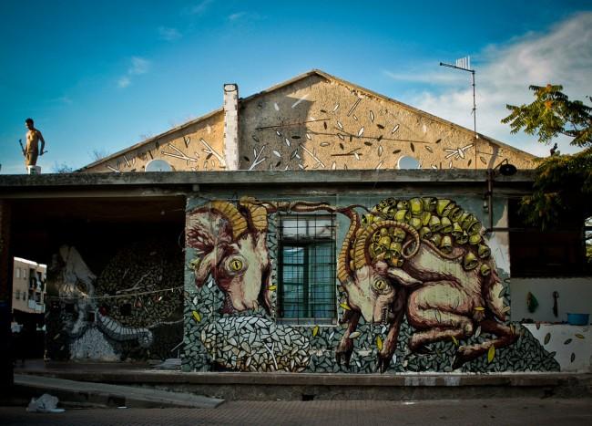 Tellas + Ericailcane, 2011, Sassari © Tellas