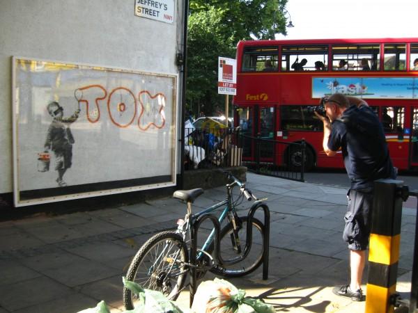 Banksy, Camden Town