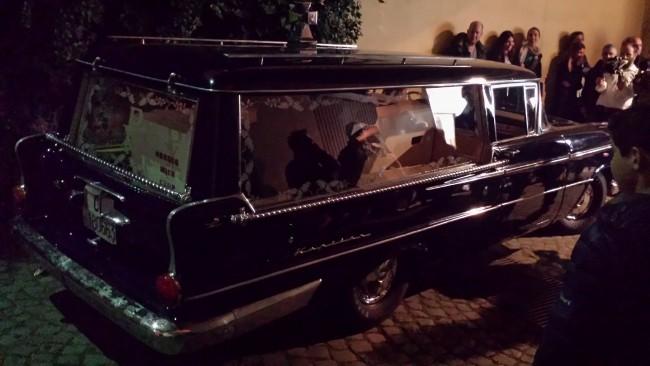 Gianno Colosimo, Il Carro funebre